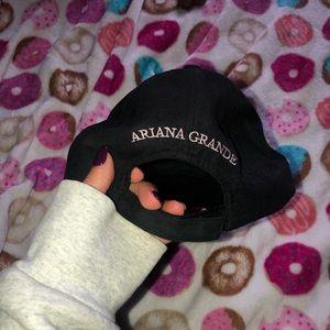 Ariana Grande Black Baseball Cap